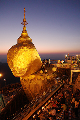 Kyaittiyo Paya (Golden Rock)